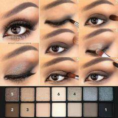 Best Ideas For Makeup Tutorials : Kate V Steps for sparkly smokey eyes using Full Exposure pale… - Smokey Eye Makeup Smokey Eyes, Smokey Eye For Brown Eyes, Brown Eyeshadow, Glitter Eyeshadow, Makeup For Brown Eyes, Eyeshadow Looks, How To Smokey Eye, Glitter Makeup, Eye Makeup Blue