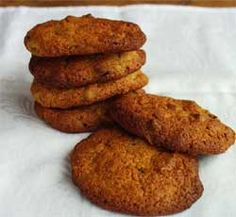 Wheat free Chewy almond cookies -- pinning this for people who can't eat wheat; lots of other wheat-free recipes on site:  http://www.wheat-free.org/wheat-gluten-free-chewy-almond-cookies.html#