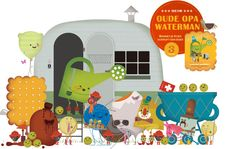 Pieter Gaudesaboos is a Belgian illustrator/graphic designer whose work - the most funky books for kids - is amazing.