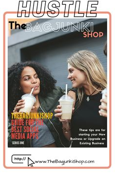 The Bagjunki Shop Series One : Best Apps for your Small Business... Tips & Tricks Best Social Media Apps, Best Apps, New Series, Cover Pages, Handmade Bags, Cool Tees, Good Things, Business Tips, Shopping