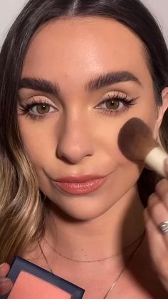 Class is in session. 📚 Watch pro makeup artist @megan.lombardi create the perfect back-to-school look using #betterbeauty. 1️⃣ Glow First Priming Serum 2️⃣ Skin Twin Featherweight Foundation with The Better Blender 3️⃣ Skin Twin Creamy Concealer 4️⃣ Color Outline Eye Pencil (Brown) 5️⃣ Think Big All-In-One Mascara 6️⃣ Color Intense Lipstick (Brunch)