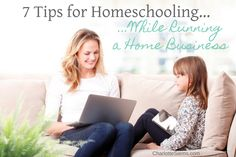 7 Tips for Homeschoo