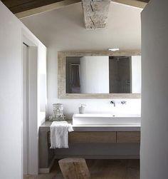 Rustikt badrum