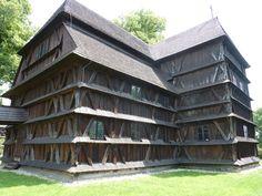 Hronsek wooden church - June 2014
