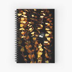 Garden Spider, My Notebook, Spiral, My Arts, Art Prints, Dark, Printed, Awesome, Artist