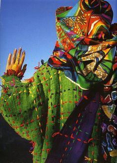 colourful 80s jenny kee ensemble
