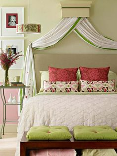 37 Super chic DIY headboard ideas.  Great ideas!