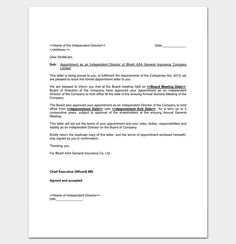 Job appointment letter sample letter templates write quick and business appointment letters 48 best letter templates write quick and professional images on thecheapjerseys Images