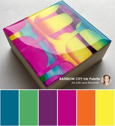 You are in the right place about colour palette art Here we offer Color Schemes Colour Palettes, Colour Pallette, Color Combos, Bright Colour Palette, Bright Color Schemes, Rainbow City, Palette Art, Pantone, Color Balance