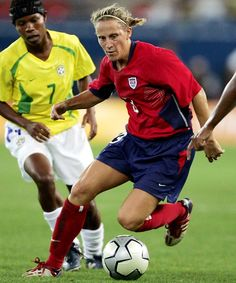 fe0b2f1cf56 Kristine Lilly- my idol..can t believe it took so long for. Mia HammOlympic  ...
