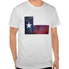 Texas Flag Nebula T-shirt