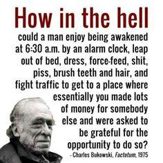 #quote Charles #Bukowski