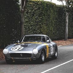 Ferrari 250GT Berlinetta Competizione | Passo Corto | SWB | Short Wheelbase Competition Coupe | Pininfarina et Scaglietti | Chassis 2069GT | 3.0L Tipo 168 V12280 hp | Top Speed 270 kph 168 mph | Produced between 1959 - 1961 | Only 52 units were built  Multiple winner of GT Races in Le Mans, Europe, UK and the US as well as Tour de France victories in 1960, 1961 and 1962 | The SWB Berlinetta won Ferrari the GT class of the 1961 Constructor's Championship | Considered as one of the best…