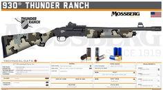 O.F. Mossberg & Sons, Inc. - 930® Thunder Ranch Tactical Shotgun, Tactical Gear, Weapons Guns, Airsoft Guns, Custom Guns, Military Guns, Weapon Concept Art, Special Forces, Firearms