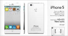 iPhone 5 Dual Core Edge to Edge Design Looks Hot