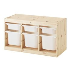 IKEA TROFAST Storage combination with boxes Light white stained pine/white 94 x 44 x 52 cm A playful and sturdy storage series for storing and organising toys, sitting, playing and relaxing. Ikea Trofast Storage, Wall Storage, Storage Boxes, Lego Storage, Shoe Storage, Storage Drawers, Storage Ideas, Childrens Storage Furniture