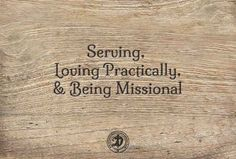 Posts and ideas for walking with Jesus, #serving others, loving practically and being #missional
