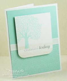 Celebrate Today Glitter card