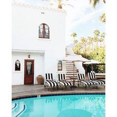 One of the pools at Korakia Pensione, a Moroccan-inspired B&B. (Sarah Sherman Samuel)