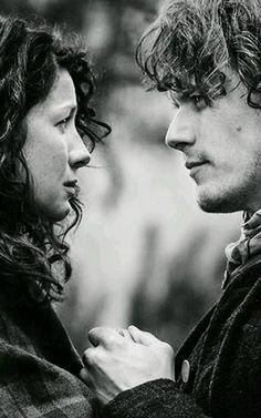 Jamie e Claire Fraser #outlander