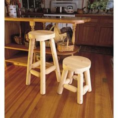 Home - Country Decor Idea Log Furniture, Bar Stools, Onion, Counter Stool, Home Decor, Kitchen, Products, Bar Stool Sports, Cuisine