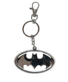 Llavero Batman logo. 6cm  Precioso llavero, de metal, del súper héroe Batman.