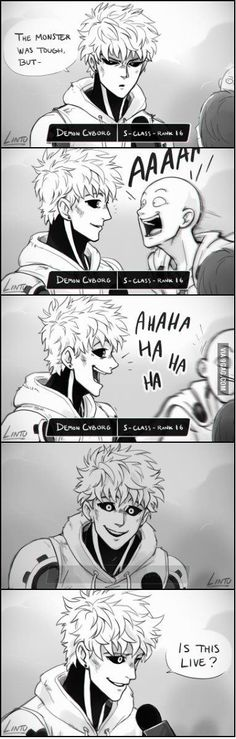 It's Genos' problem, not mine...