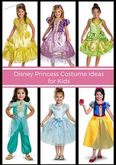 33 Disney Princess Costumes for kids - If you're looking for Disney Princess Costumes for girls this Halloween, here's a list of affordable Halloween costumes on Amazon.
