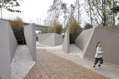 Jardín hundido / Plasma Studio