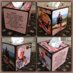 Custom personalized Tissue Box for GiGi