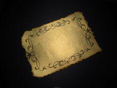 Приглашения на свадьбу. Золотой свиток под старину.: На крыльях вдохновения. Blog, Decor, Decoration, Blogging, Decorating, Deco