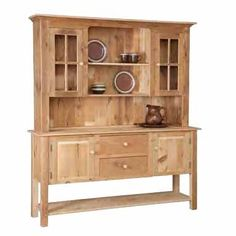 6ft Shaker Buffet with Welsh Hutch Top products are available at The Cutter's Edge • 705-382-2026