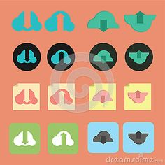 Set of download and upload icon. This vector is fit to your graphic need