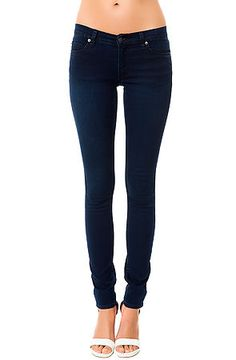 The Slim Skinny Lowrise Jean in Poly Rinse Blue by Cheap Monday. Ladies are always on the hunt for the perfect pair of skinny jeans and these are like a second skin, $75