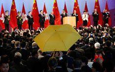 Image result for yellow umbrella revolution