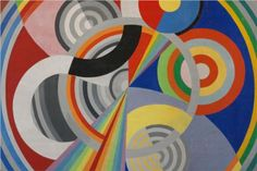 Orfisme Robert Delaunay was a French artist who, with his wife Sonia Delaunay and others, cofounded the Orphism art movement, noted for its use of strong colours and geometric shapes. His later works were more abstract, reminiscent of Paul Klee. Sonia Delaunay, Robert Delaunay, Georges Seurat, Georges Braque, Harlem Renaissance, Henri Rousseau, Art Books For Kids, Art Abstrait, Wassily Kandinsky