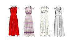 Dresses on clothes hangers - 3D Warehouse
