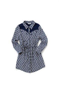 Western Shirt Dress