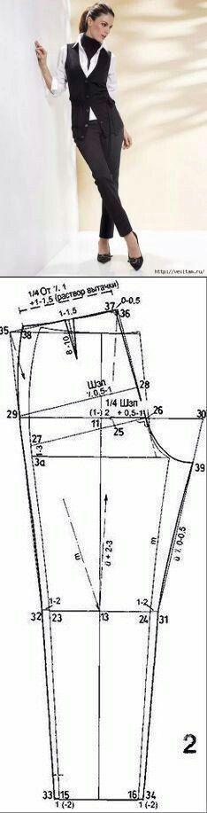 Tghit pants pattern...<3 Deniz <3