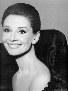 Audrey Hepburn....absolutely stunning with age.