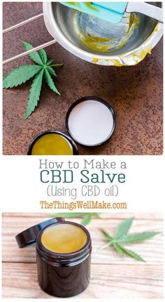 Homemade CBD Salve Recipe Many people use CBD salves on their achy or stiff joints and muscles. Today I'll show you how to make a CBD salve using CBD oil that can be easily obtained in the United States and many other countries. Natural Health Remedies, Herbal Remedies, Cold Remedies, Salve Recipes, Cbd Hemp Oil, Oil Benefits, Health Benefits, Natural Medicine, Herbal Medicine
