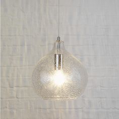 Add a touch of sparkle to your home with this stunning bubble light. Hang over a dining room table, a kitchen island or that special reading corner in your living room.