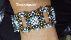 Tutorial- Atwood  Bracelet di Vivatutorial su Etsy https://www.etsy.com/it/listing/258208731/tutorial-atwood-bracelet