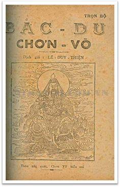 Bắc Du Chơn Võ (NXB Tín Đức Thư Xã 1950) - Lê Duy Thiện, 112 Trang