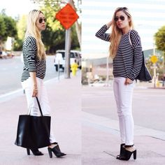 Blogger lovejookim looks chic in the JustFab Damienne heels.