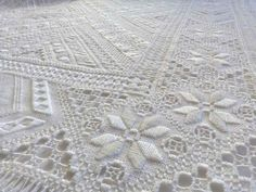 Motif Floral, Embroidery, Quilts, Blanket, Crochet, Passion, Home Decor, Hardanger, Table Toppers