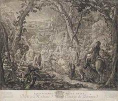 JEAN-BAPTISTE-ANDRÉ GAUTIER D'AGOTY (1740-1786) Trait de bienfaisance de la reine, Marie-Antoinette à Madame la comtesse de Provence Eau-forte et mezzotinte, 1774, cadre. 53 x 61 cm. (20 7/8 x 13 3/8 in.)