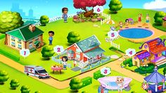 Basic Rules of Safety for Children. Review of the main menu of game Chil...