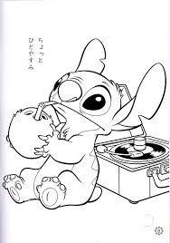 disney lilo and stitch coloring pages coloring pages pinterest