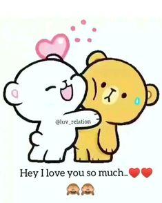 cartoon videos so cute Cute Love Quotes, Cute Love Pictures, Cute Cartoon Pictures, Cute Love Stories, Love You Images, Cute Love Gif, Love Cartoon Couple, Cute Love Cartoons, Cartoon Gifs